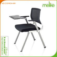 Kama mesh back four legs training table chair C10-MCA-NM