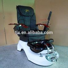 portable pedicure spa fiberglass basin electric seat massager chair