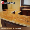 Chinese high quality stone home depot bathroom countertops