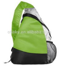Triangle backpack one single shoulder strap backpack