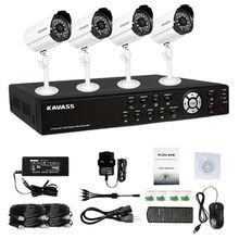Newest kit! camera cctv systems 900 tvl 900tvl cmos bullet 4ch full D1 700tvl 800tvl DVR KIT
