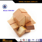 3D educational toys handmade Wooden number puzzle wooden toy