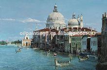 100%handmade Venice painting on canvas 2012