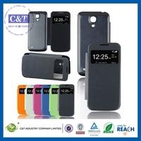 Popular colorful flip cover case for samsung galaxy s4 mini