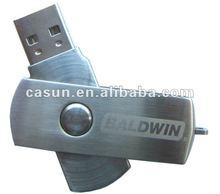 swivel metal USB disk USB Flash Drive USB Flash Memory Disk