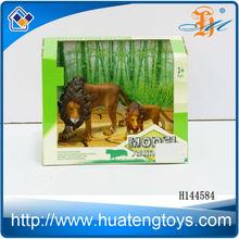 2014 New arrival plastic animal figure set toys for kids wholesale in Shantou