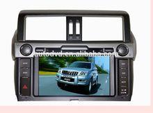 2014 toyota prado (high version with emergency button) Car DVD navigaiton with IPOD BLUETOOTH