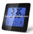 Multifonctionnel horloge numérique& station météo radio contrôlée