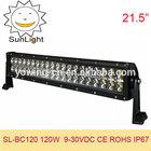 Car accessory 20 inch 120W cree led light bar 120w 4*4 offroad led light bar led car light for mini jeep,trucks,suv