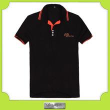 Newly design vogue plus size patterns polo t shirt for men