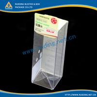 pvc modular box/clear perfume pvc packaging,transparent plastic box