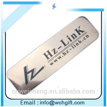 metal car logo rectangle lapel pins