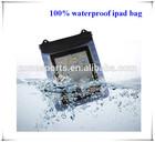 pvc waterproof cover case for ipad mini,hot selling waterproof bag for ipad 3
