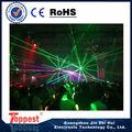 Top x-8311 efeito verde show de laser de diodo emissor de