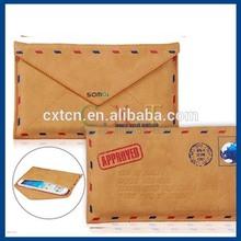Vintage Envelope Design Protective Case for Samsung Galaxy Note2/ N7100 (Brown)