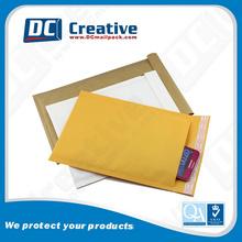 gold bubble lined envelope seals