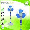 16 Inch powerful motor plastic household stand fan parts for family