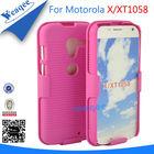 Fancy combo pc hard case for motorola moto x xt1058