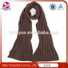 fashion wool scarf girls new model knit winter scarf 2013