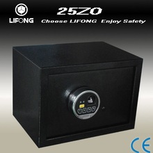 Easy operation of biometric safe with fingerprint technology