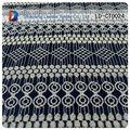 africano laço químico de tecido para roupa com padrão de bambu laço