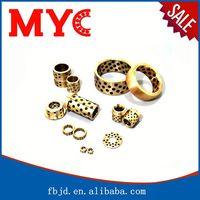 Bearing distributor metal end cap