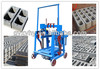 Hongying QMY4-40 mobile concrete hollow block making machinery