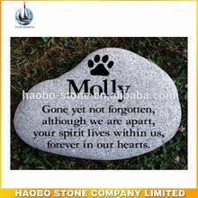 Beautiful & Elegant Grey Granite Memorial Stones