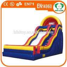 HI inflatable slide,inflatable fire truck slide