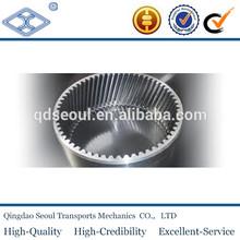 standard M2.5 T50 metal starter large 45 degree machining internal helical gear