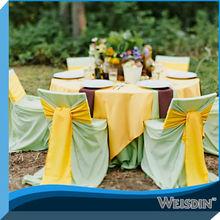 banchetto di nozze sedia coperchio verde jacquard sedia universale copre