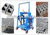 2014 Hongying QMY2-40 concrete mobile block machine