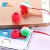 Good quality custom printed earphones with microphone