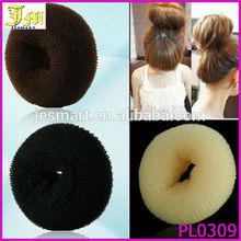 2014 Womens Girl's HOT Hair Bun Ring Donut Shaper Hair Styler Maker 3 Colors 3 Sizes