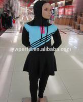kid swimsuit abaya muslim modest clothing muslim swim wear full covered