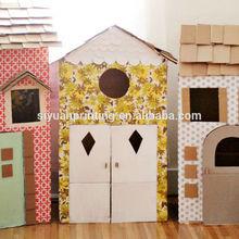 Hight Quality Cardboard Box Houses