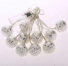 Christmas ornament ball garland LED