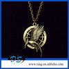 Hunger Games Necklace catching fire 2 LOGO Birds Pendant