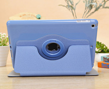 New Product 360 Degree Rotary Wallet Leather Case cover for iPad Air