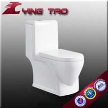 elegant home use siphonic dual flush decorated water closet bathroom combination toilet and basin