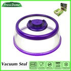 """Purple 10"""" PresssDome Vacuum Food Container Seal pet food can cover"""
