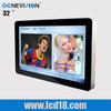 Hot 32 inch wall mount Ipad design vertical touch screen computer lcd monitor (MG-320JE)