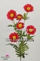 mesa de flores artificiais flores artificiais atacado aster 27788pn flor