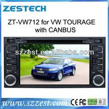 ZESTECH China Factory 2 Din Touch screen Car DVD Gps Navigation for Volkswagen VW TOUAREG Car DVD Gps Navigation radio