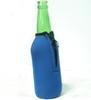 single beer bottle cooler with zipper