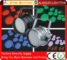 Factory price, Indoor LED RGB par64 Disco Party Lighting
