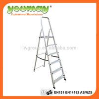 EN131 household ladder,folding work bench,super ladder,AF0306B,6steps