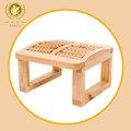 Hecho a mano de madera de cedro mejor pie silla del masaje/taburete
