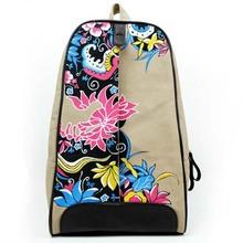 B1047 origin fashion trendy retro shoulder backpack light weight school bags