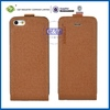 Newest blank sublimation leather pouch case for iphone 5s